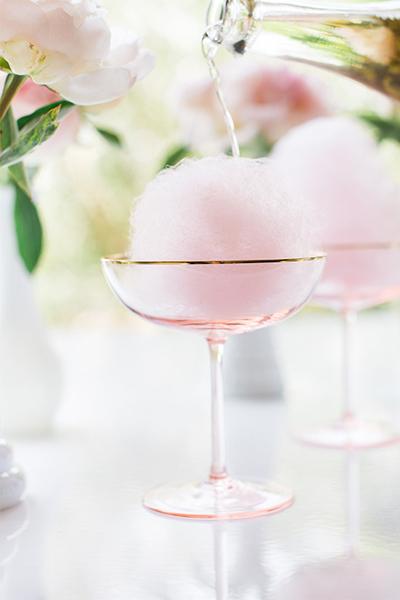 lauren-conrad-cotton-candy-champagne-cocktail